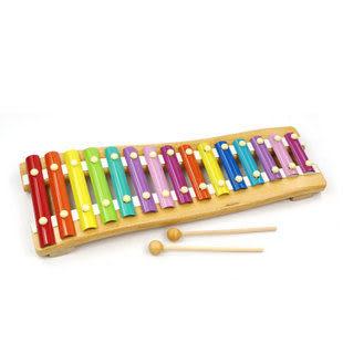 十五音階彩色鋼片木琴 敲琴玩具