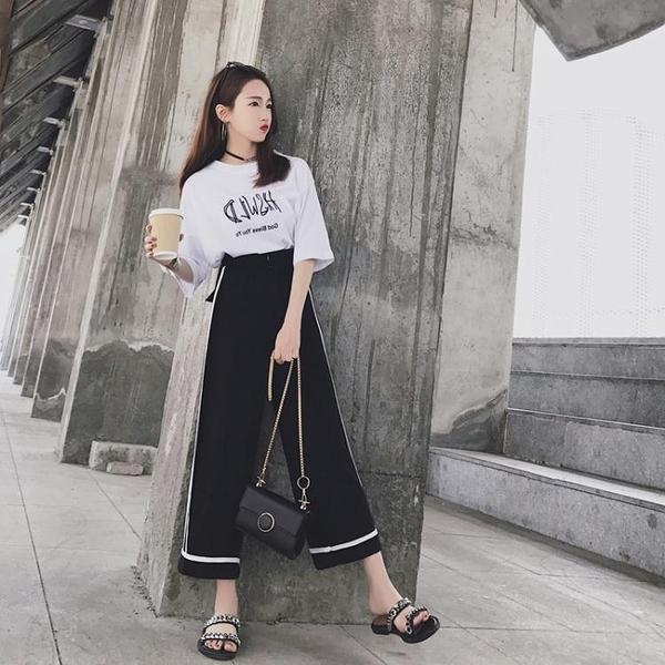 休閒套裝 夏裝新款女裝韓版時尚兩件套初中學生閨蜜休閒運動服套裝女潮「艾瑞斯居家生活」