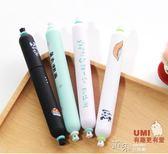 中性筆韓國款小清新可愛創意卡通香腸筆0.5學生用黑筆考試筆套裝 道禾生活館
