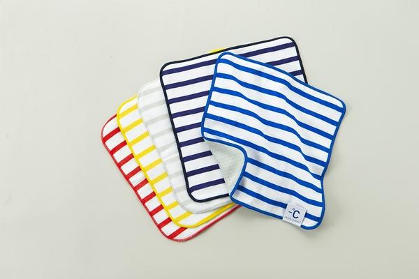 【100percent】Minus Degree Soft 柔軟條紋涼感手巾