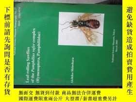 二手書博民逛書店b0040leaf-rolling罕見sawflies of t