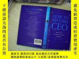 二手書博民逛書店HOW罕見TO BECOME CEO(韩文原版)Y203004