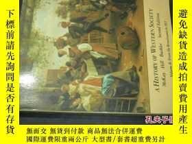 二手書博民逛書店A罕見HISTORY OF WESTERN SOCIETY Mc