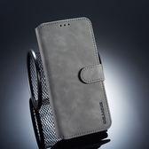 華為 Mate20 Pro 復古皮套 翻蓋手機殼 磁扣錢包款皮套 插卡防摔保護套 支架保護殼 附掛繩