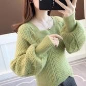 毛衣女秋季新款寬鬆外穿韓版慵懶風套頭秋冬很仙的針織衫上衣 夢幻衣都