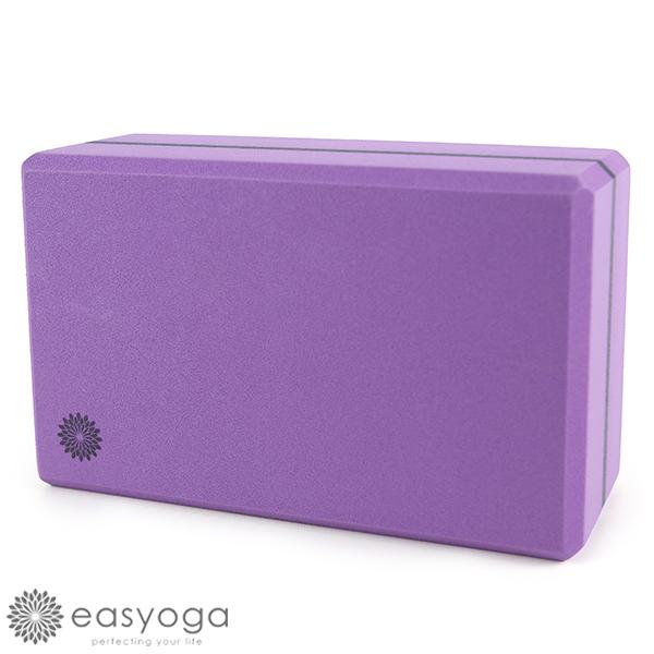 easyoga 瑜珈墊 高優質瑜珈磚 50D - 亮紫