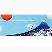 【日本製】【和布華】 日本製 注染拭手巾 藍色 富士山圖案 SD-5187 - 和布華 日本製
