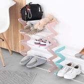 微納物語 簡易鞋架多層組裝宿舍經濟型簡約現代塑料鞋架家用WD 中秋節全館免運