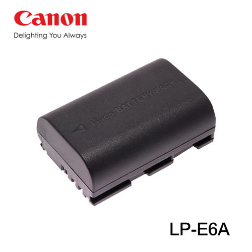 郵寄免運費$299 3C LiFe CANON LP-E6 電池 LP-E6A 鋰電池 EOS 5D 5D2 5D3 7D 60D 6D 70D 適用