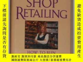 二手書博民逛書店英文原版罕見Specialty Shop Retailing b
