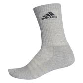 Adidas 3S PER CR HC 1P [AA2302] 中筒襪 透氣 舒適 彈性 男女 灰黑