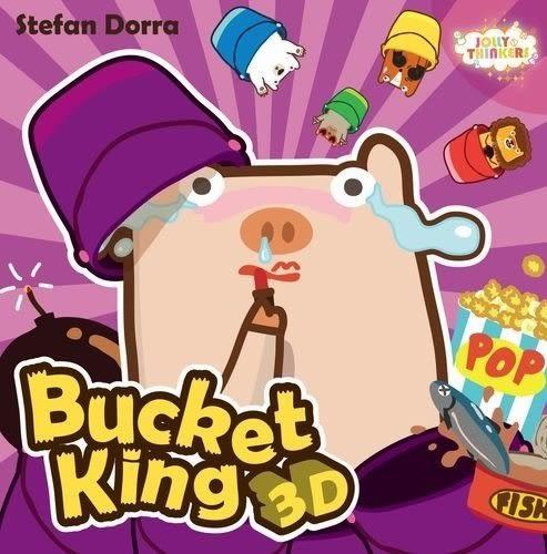 『高雄龐奇桌遊』 撞桶王3D Bucket King 3D 繁體中文版 ★正版桌上遊戲專賣店★