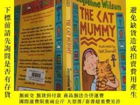 二手書博民逛書店jacqueline罕見wilson the cat mummy 貓媽媽傑奎琳·威爾遜Y200392