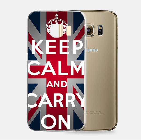 ♥ 俏魔女美人館 ♥Samsung Galaxy S7 {文字國旗*軟殼} 手機殼 手機套 保護殼