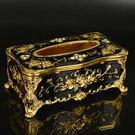 歐式鑲金面紙盒紙巾盒303161通販屋