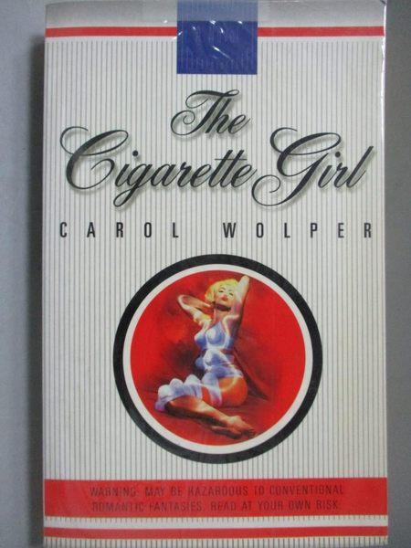 【書寶二手書T5/原文小說_OOR】The cigarette girl_Carol Wolper.