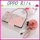 OPPO R11s 6吋 Plus 6.4吋 淑女風皮套 五彩玫瑰花保護殼 側翻手機殼 可插卡保護套 磁扣手機套 吊飾孔