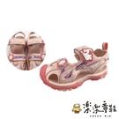 【樂樂童鞋】冰雪奇緣護趾涼鞋 F062 - 女童鞋 涼鞋 大童鞋 兒童涼鞋 沙灘鞋 現貨 冰雪奇緣 迪士尼