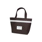 咖色點點 環保袋 提袋 不織布袋 購物袋【L012】