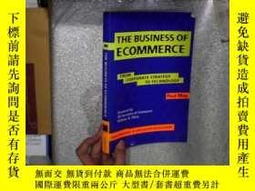二手書博民逛書店THE罕見BUSINESS OF ECOMMERCE 電子商務