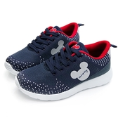DISNEY 經典潮流 米奇點點休閒鞋-藍紅-DW5636F6