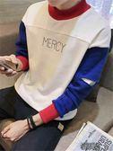 秋冬季高領衛衣男青年韓版修身長袖T恤打底外套小衫上衣 街頭布衣