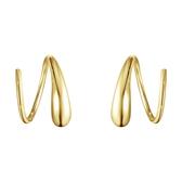 Georg Jensen 喬治傑生 18k黃金 MERCY 耳環(10017066)