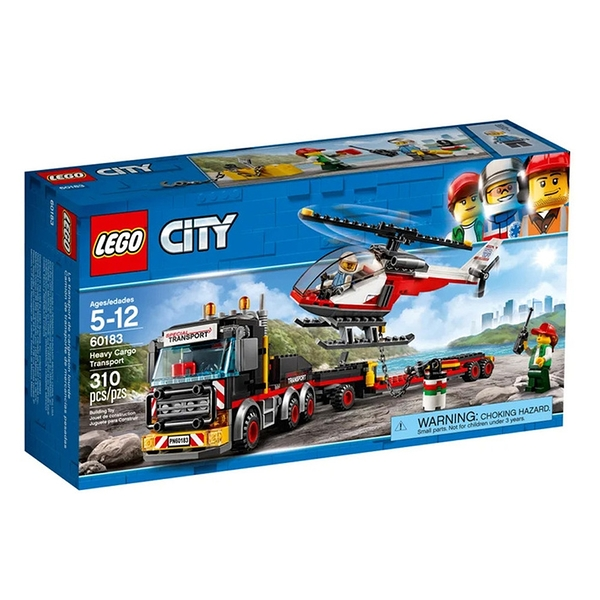 LEGO 樂高 City 城市系列 Heavy Cargo Transport 60183