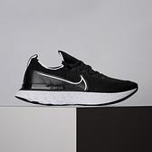 Nike React Infinity Run Fk 男女款 黑白 輕量 編織 透氣 慢跑鞋 CD4371-002 / CD4372-002