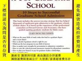 二手書博民逛書店Making罕見It Into A Top Graaduate School 10 Steps To Succes