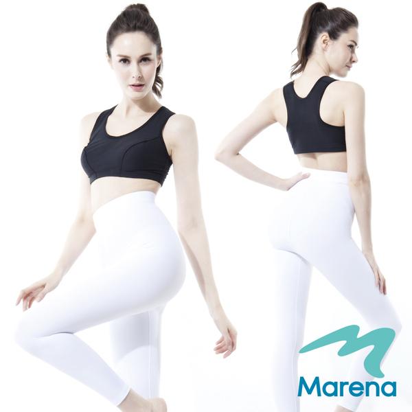 【美國原裝MARENA】魔力輕塑高腰九分塑身褲/顯瘦機能抗菌內搭褲