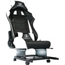 IONRAX RS SEAT SET 後半段賽車椅組 - 黑白  (本產品為DIY 自行組裝產品,不含安裝)