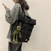 新款日系男女高中生大容量15.6寸電腦雙肩背包韓版ins大學生書包 米娜小鋪