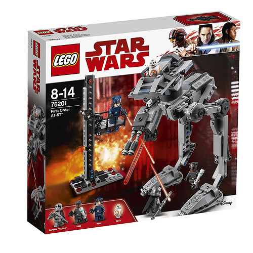 LEGO樂高 Star Wars系列 First Order AT-ST™_LG75201