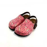 台灣WONDER GO 牛皮鞋墊 經典質感前包涼拖鞋《7+1童鞋》D062粉色