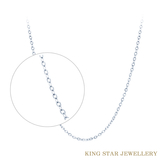 閃耀O字18K金鍊(K金項鍊) King Star 海辰國際珠寶 飾品