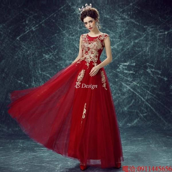 (45 Design)  7天到貨 禮服婚紗晚禮服短款晚宴年會 結婚小禮服短裙 大小顏色款式都能訂製21