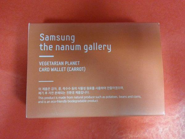 316002#Samsung 皮夾 橘色款#錢包 the nanum gallery 韓貨