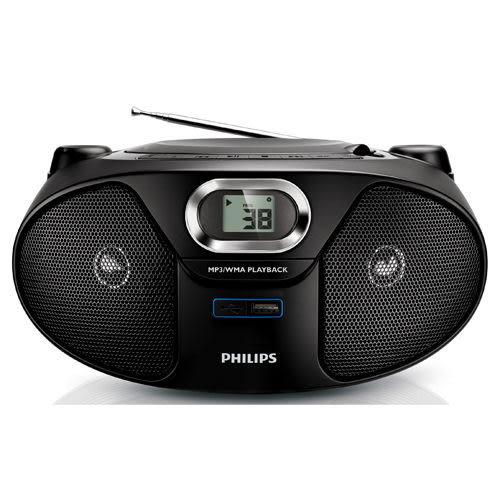 飛利浦 Philips 手提CD/USB/MP3音響 AZ385(免運費)