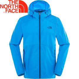 【The North Face Men's Flyweight Hoodie男款 風衣外套〈藍〉】2SLP/風衣外套/外套★滿額送