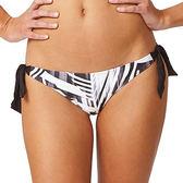 Moontide 知名進口泳裝品牌 WIDE TIE SIDE PANT 比基尼褲 - 女(黑/白)