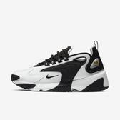 Nike Zoom 2K [AO0354-100] 女鞋 運動 休閒 慢跑 健身  氣墊 避震 球鞋 穿搭 情侶 白黑