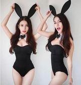 情趣制服角扮演可愛兔女郎貓女服制服套裝性感修身連體衣情趣制服透視 法布蕾輕時尚