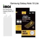 【iMos】霧面電競螢幕保護貼 Samsung Galaxy Note 10 Lite (6.7吋) 電競專用 極滑 抗污 防反光