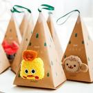 【BlueCat】三角形立體動物耳朵珊瑚絨襪子聖誕節禮盒