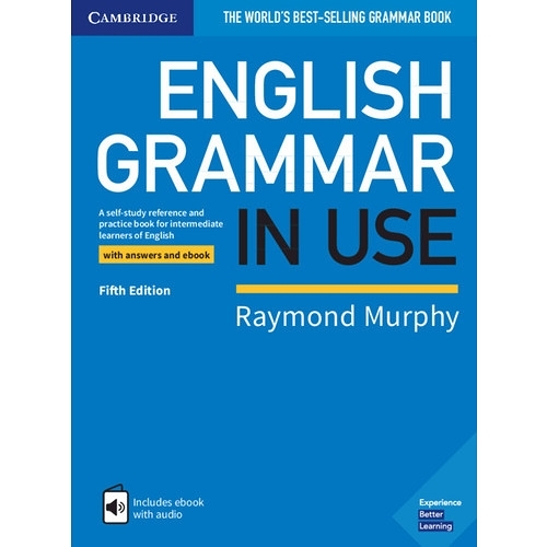 English Grammar in Use Book with Answers and Interactive eBook(5/E)(原版劍橋中级語法/藍色封面)