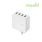 moshi ProGeo 旅充系列 USB 4-Port 充電器 35 W 美規 四孔 充電器 旅行必備 豆腐頭 快充