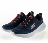 SKECHERS系列-GORUN FAST 女款深藍紅運動慢跑鞋-NO.15106NVCL