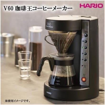 HARIO 珈琲王 手沖美式咖啡機 咖啡王 電動濾滴式咖啡壺 EVCM-5B-TG 2~5杯 公司貨