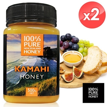 【南紡購物中心】【 紐西蘭恩賜】卡瑪希蜂蜜2瓶組 (500公克*2瓶)